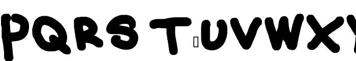 Vincent's Eyeball Font UPPERCASE