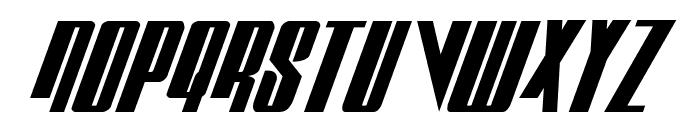 Vindicator Italic Font UPPERCASE