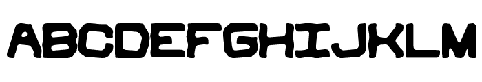 Vindictive BRK Font UPPERCASE