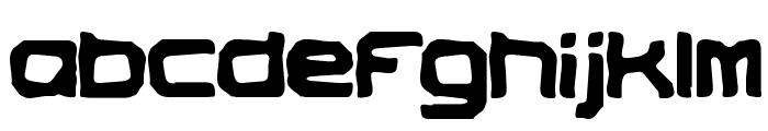 Vindictive BRK Font LOWERCASE