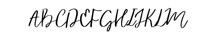 Vingiloth Font UPPERCASE