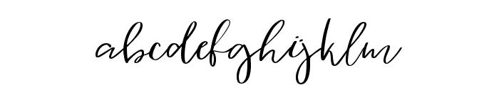 Vingiloth Font LOWERCASE