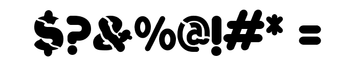 Vinilo-Ultra Font OTHER CHARS