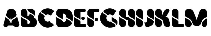 Vinilo-Ultra Font UPPERCASE