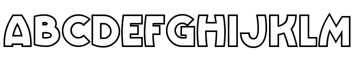 VinnieBoomBahNF Font LOWERCASE