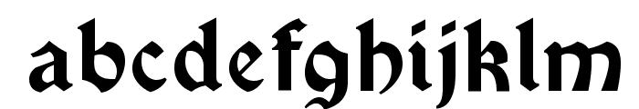 Vinque-Regular Font LOWERCASE