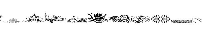Vintage Decorative Signs 16 Font LOWERCASE
