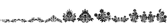 Vintage Decorative signs Font LOWERCASE