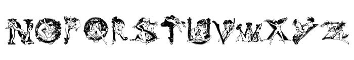 Vintage Erotique Font UPPERCASE