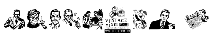 Vintage Mixed vol2 Font OTHER CHARS