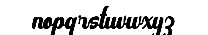 Vintage Party FreeVersion Font LOWERCASE