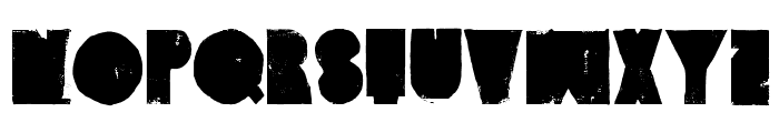VintageDenim-SetA Font UPPERCASE