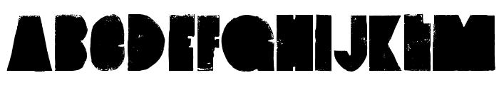 VintageDenim-SetA Font LOWERCASE