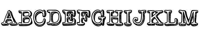 VintageOne Font UPPERCASE