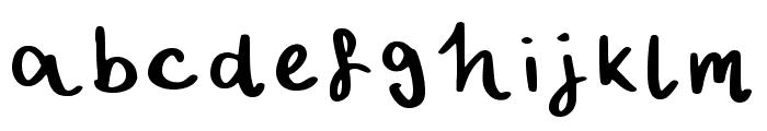 Vinyl Regular Font LOWERCASE