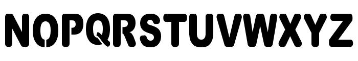 VinylCuts Font UPPERCASE