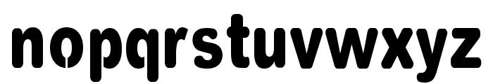 VinylCuts Font LOWERCASE