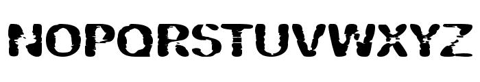Vipertuism Font UPPERCASE