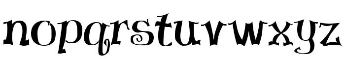 Virgin Regular Font LOWERCASE