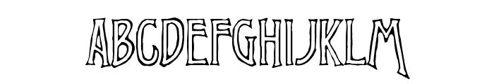 Virile Open Font UPPERCASE