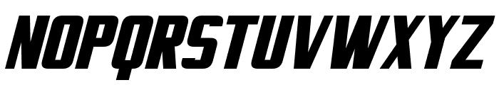 Virtucorp Bold Italic Font UPPERCASE