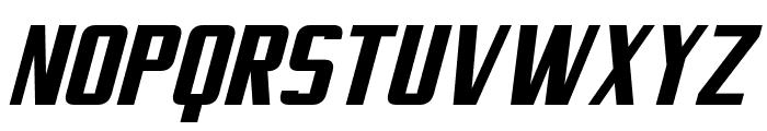 Virtucorp Italic Font UPPERCASE