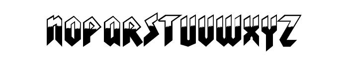 Visionaries Normal Font LOWERCASE