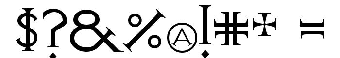 Visitation Regular Font OTHER CHARS