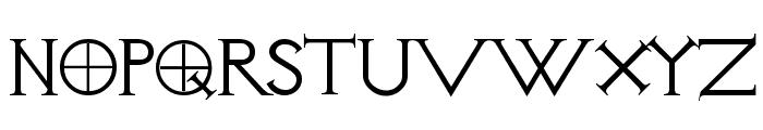 Visitation Regular Font UPPERCASE