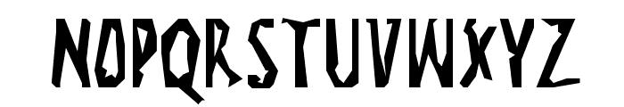 Visitcard Font UPPERCASE