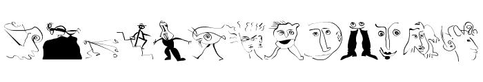 VisualObsessions Font LOWERCASE