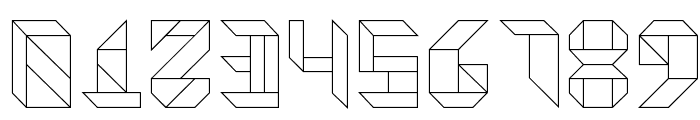 Vitreous Light Font OTHER CHARS