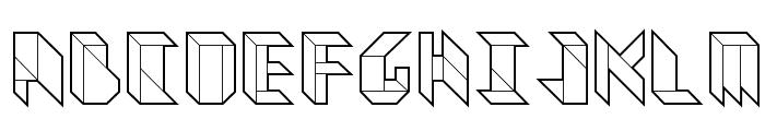 Vitreous Medium Font UPPERCASE