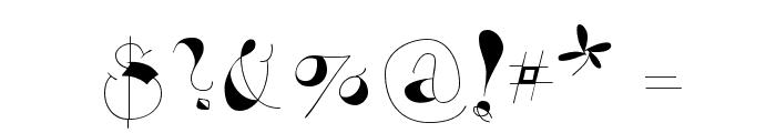 VivaBodoni Font OTHER CHARS