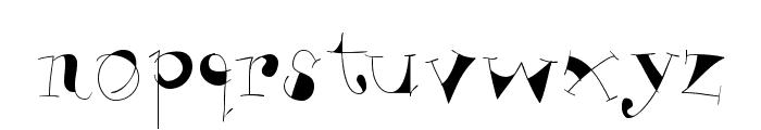 VivaBodoni Font LOWERCASE