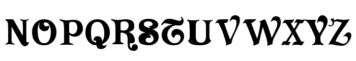 Vivala Font UPPERCASE
