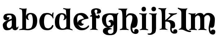 Vivala Font LOWERCASE