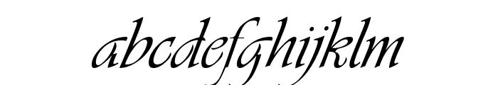 Vivaldi Italic Font LOWERCASE