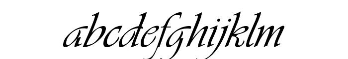 VivaldiD CL Font LOWERCASE