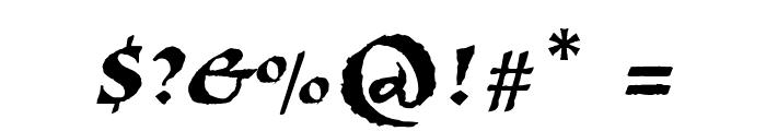 Viza Font OTHER CHARS