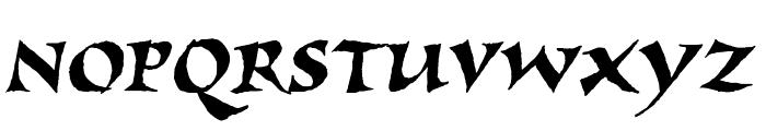 Viza Font UPPERCASE