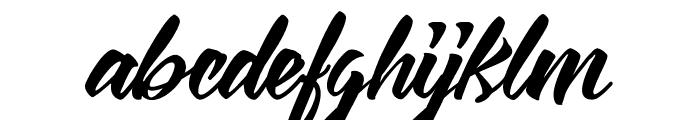 Vizels-VMF Font LOWERCASE