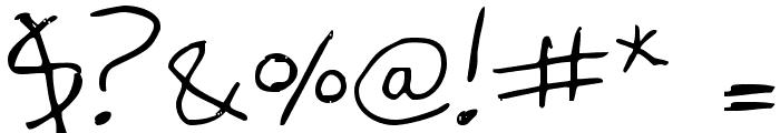 vielkalahizo Font OTHER CHARS