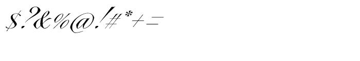 Vicomte FY Regular Font OTHER CHARS