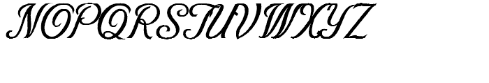 Victory Script Aged Font UPPERCASE