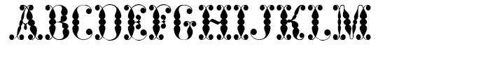 Vidalia Sunshine NF Regular Font UPPERCASE