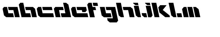 Video Tech Open AItalic Font LOWERCASE