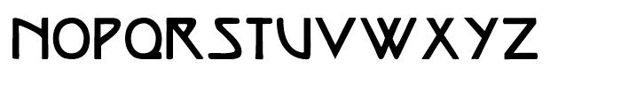 Vienna Workshop Regular Font UPPERCASE