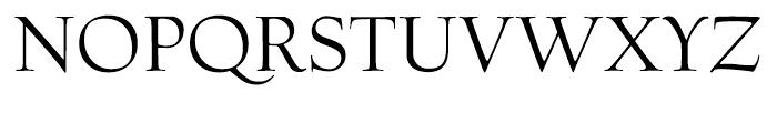 Village Roman Smallcaps Titling Font UPPERCASE