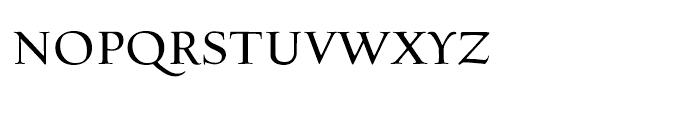 Village Roman Smallcaps Titling Font LOWERCASE